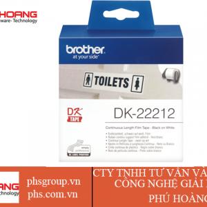 Nhãn in DK-22212