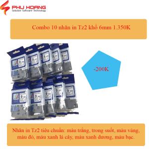 Combo 10 nhan in 6mm