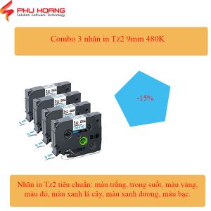 Combo 3 nhãn Tz2/Hze 9mm
