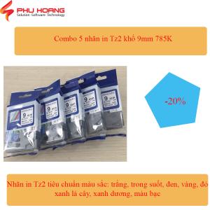 Combo 5 nhãn Hze Tz2 9mm